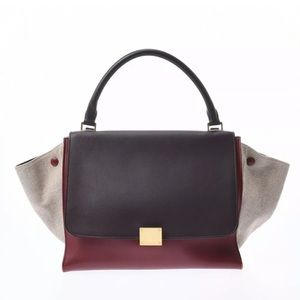 Celine Trapeze brown handbag